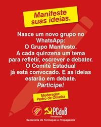 PCdoB-PE cria grupo no WhatsApp para estimular o debate de ideias