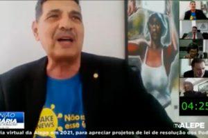 Em discurso, João Paulo destaca luta do PCdoB pela democracia e em defesa da vida